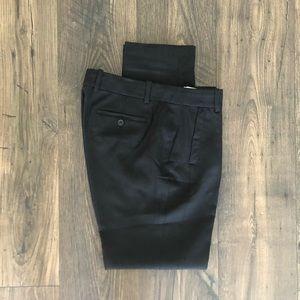 J. Crew Tapered Leg Trousers Bottoms Black Pants